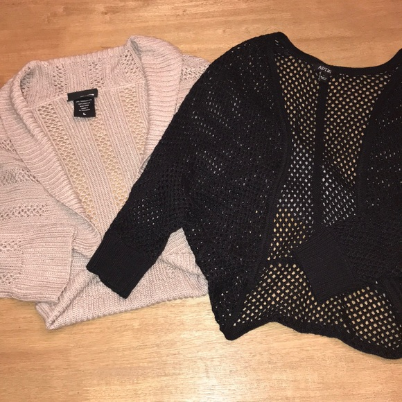 Apt. 9 Sweaters - 2 cropped sweaters